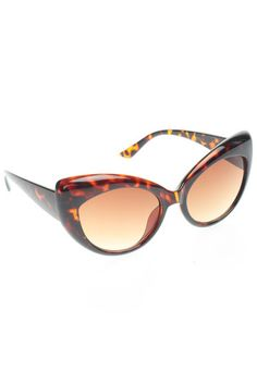 Cats Meow Sunglasses in Tortoise