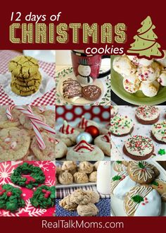 Christmas wouldn't be the same without a plate full of a variety of homemade baked Christmas Cookies.