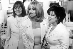 """Ladies, you have to be strong and independent, and remember, don't get mad, get everything."" ~ 'The First Wives Club'"