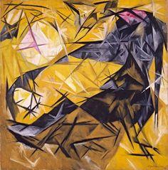 Natalia Goncharova, Cats : 1913 on ArtStack #natalia-goncharova-natal-ia-sierghieievna-goncharova #art