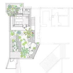 shanghai-based atelier deshaus builds a small tea house that extends as a lush green garden and courtyard in the xuhui area of china. Dubai Architecture, Japanese Architecture, Architecture Design, Contemporary Architecture, Japanese Tea House, Traditional Japanese House, Atrium House, Zen Interiors, Dubai Houses