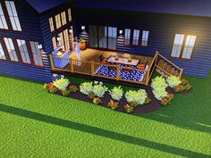 3 D, Deck, Layout, Mansions, House Styles, Outdoor Decor, Projects, Home Decor, Log Projects