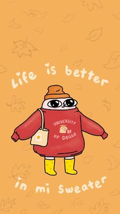 """""""New Sweater Weather wallpaper 🧡🍂"""" Weather Wallpaper, Mood Wallpaper, Aesthetic Iphone Wallpaper, Aesthetic Wallpapers, Crazy Wallpaper, Unique Wallpaper, Funny Phone Wallpaper, Kawaii Wallpaper, Lock Screen Wallpaper"""