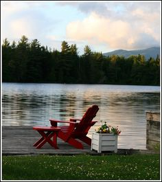 Adirondack Dusk by AlisonLOL, via Flickr