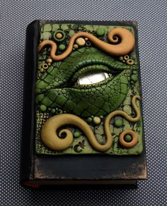 Dragon Eye Book Box Cover by *MandarinMoon on deviantART