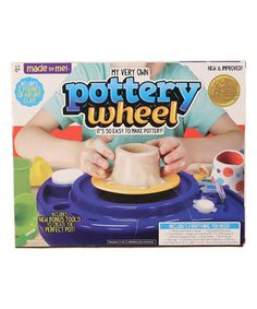 Love this Pottery Wheel Kit on #zulily! #zulilyfinds