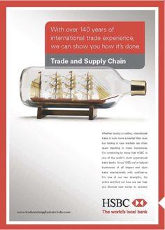 Portfolio — Integrated campaign for HSBC business including...