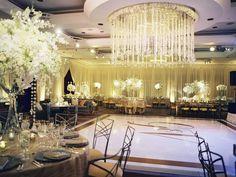 Gold and white reception details - EVOKE | Abby Jiu Photography
