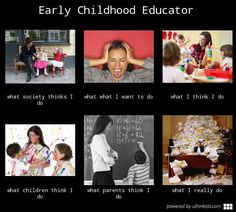 What early childhood teachers really do.