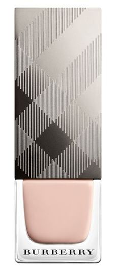 Can't go wrong with Burberry nail polish! Comes in 20+ colors, including this beautiful neutral shade. Goes on smoothly and has a rich, glossy finish.