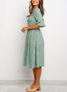 Modest Fashion 218143175688720572 - Floral Print Ruffled Dress – Pinksmall Source by Boho Outfits, Dress Outfits, Skater Outfits, Disney Outfits, Spring Dresses, Spring Outfits, Summer Dress Modest, Spring Clothes, Modest Fashion