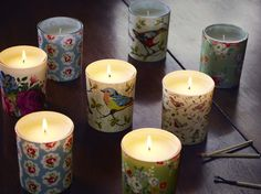 Glass Scented Candles | Cath Kidston AW15 |