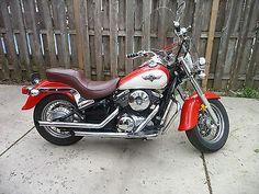 eBay: 1996 Kawasaki Vulcan 1996 kawasaki vulcan classic 800 vn800b1 Red vintage Motorcycle 16,000 Clean #motorcycles #biker