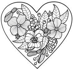Plentiful Cornucopia Coloring Page | COLORING BOOKS AND PAGES ...