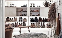 A walk-in shoe room   Dream storage in 'Find it!' - a new book from IKEA   live from IKEA FAMILY