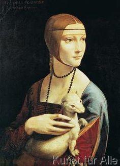 Leonardo da Vinci - La dama con l'ermellino