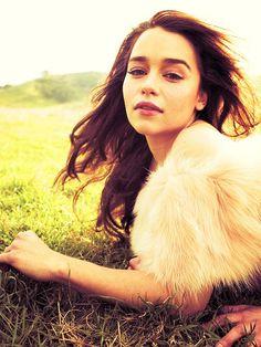 Emilia Clarke. She's pretty.