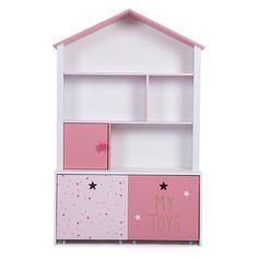 Kast perfect geschikt voor een meidenkamer om boeken en speelgoed in ...