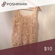 Crochet Look Tank Crochet Look Tank-True to Size-Always Open to Offers-Discounts on Bundles Tops Tank Tops