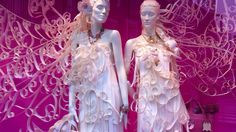 Show window at Ginza in Tokio