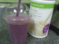 Allergen free blackberry banana protein shake....Mmmmm http://www.goherbalife.com/alexismarie