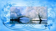 Fonds D'écrans Hivers - Créations Armony Creations, Winter Wallpaper