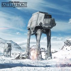 """Echo station 3-T-8, we have spotted Imperial walkers."" #StarWarsBattlefront #hoth"