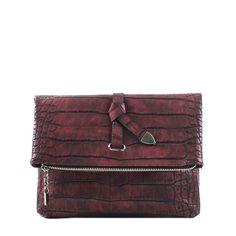 와니리본 클러치 : 핑크얼룩말 #bag