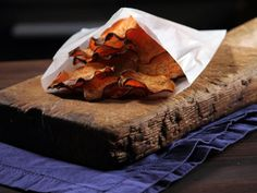 "Spicy Sweet Potato Chips - From ""Not My Mama's Meals"" with Bobby Dean."