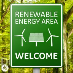 Welcome to a #renewable energy area!