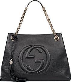 GUCCI Gucci Women'S 308982A7M0G1000 Black Leather Shoulder Bag. #gucci #bags #shoulder bags #hand bags #leather