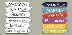 Our Book World Signpost is great for displaying above a reading nook. It contains 6 fantasy worlds from your favourite books.