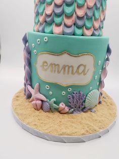 Mermaid Cakes, Birthday Cake, Treats, Desserts, Food, Sweet Like Candy, Tailgate Desserts, Goodies, Deserts