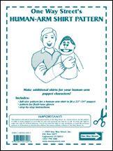 Patterns / Puppet Building - Human-Arm Shirt Pattern