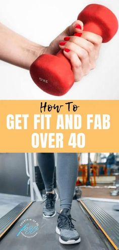 I've tackled some of the intimidating initial steps between your sneakers and the treadmill. Read on for tips on how to feel confident working out while avoiding joint pain and injury. You can reach your goals and feel fit and fab at forty and beyond. Get started during Healthy Aging Month in September and all year round. #fitness #over40 #healthyagingmonth #cardio #workout