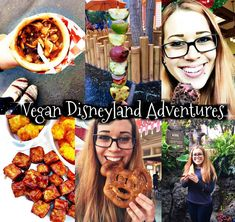 CLICK the pin for my TOP Vegan Disneyland food Finds! :)