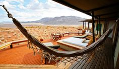 Hammock at Wolwedans Dune Lodge #Namibia