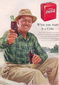 Coke Fishing Ad  - What you want!