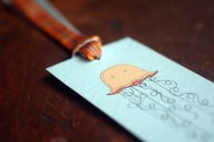 This guy makes some adorable bookmarks with original illustrations. $4