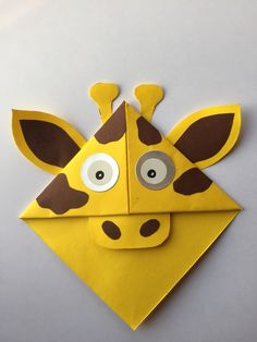 Origami for Everyone – From Beginner to Advanced – DIY Fan Bookmark Craft, Bookmarks Kids, Corner Bookmarks, Origami Bookmark, Handmade Bookmarks, Origami Star Box, Origami Love, Origami Design, Origami Easy