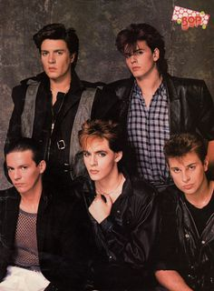 Duran Duran...I mean...really? How hot can they get...OMG!