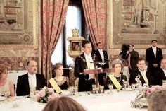 Mexico State Visit to Spain, State Dinner, June 9, 2014