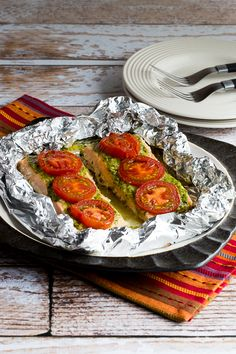 Baked White Fish With Pine Nut, Parmesan, And Basil Pesto ...