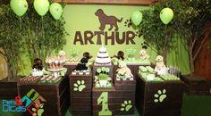 decoracao festa cachorro - Buscar con Google
