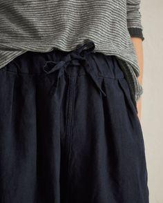 TOAST   Cotton/linen Twill Trousers