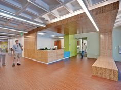 Mesa Community College Health Wellness Building | SmithGroupJJR | Photo Credit: Liam Frederick