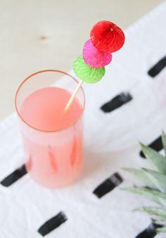 DIY Cinco de Mayo Drink Stirrers