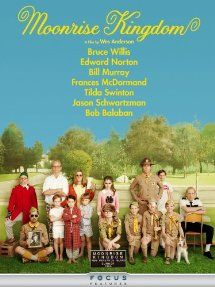 Moonrise Kingdom (2012) with Bruce Willis, Edward Norton, Bill Murray and Frances McDormand. (Image from Amazon)