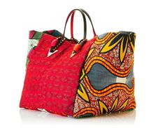 Christian Louboutin launches Africaba (African Prints in Fashion) Christian Louboutin, African Accessories, Fashion Accessories, My Bags, Purses And Bags, Ankara Bags, Sacs Design, Unique Bags, Patchwork Bags