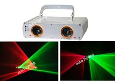 Double head RG laser light for disco bi-color Lazer Show Projector Beam Lasers…